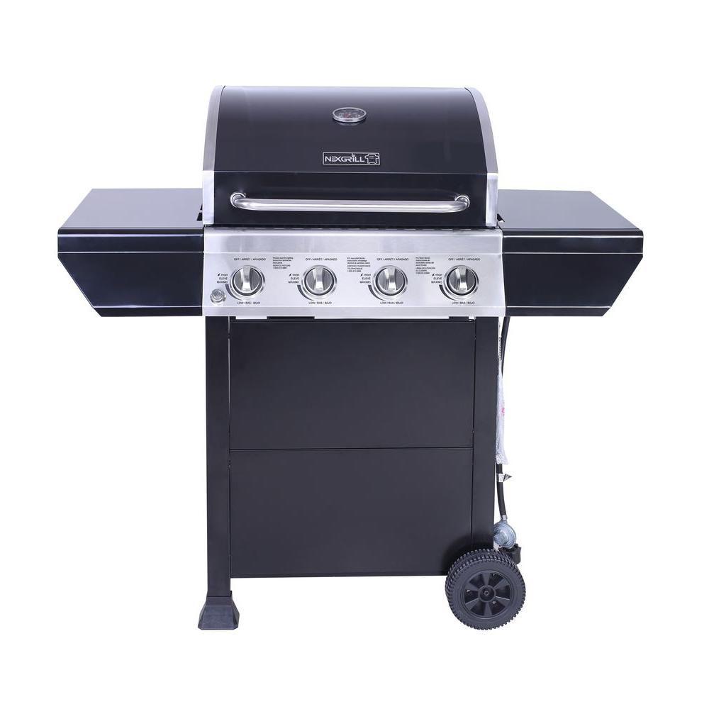 4-Burner Gas BBQ