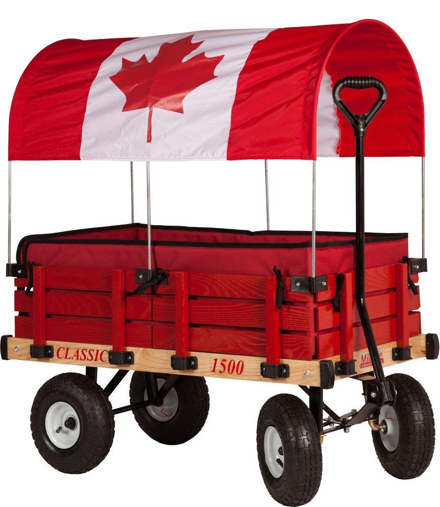 Chariot d'enfant classique du canada