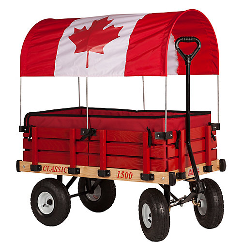 Classic Kids Wagon with Canada Canopy