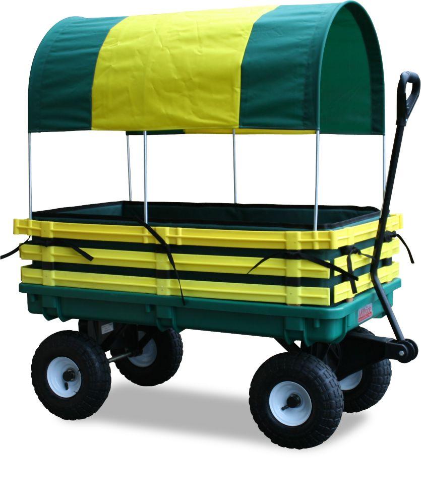 Kids Covered Trekker Wagon