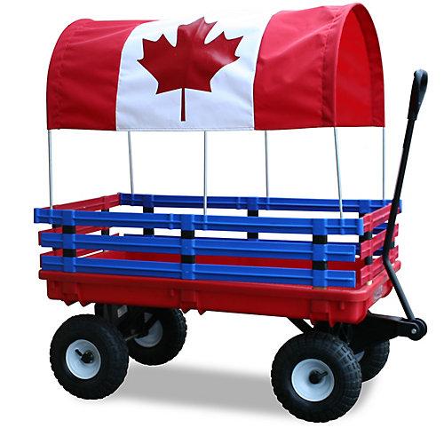Kids Canada Flag Trekker Wagon