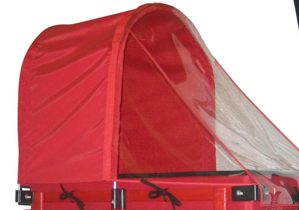 Millside Industries Half Canopy/Weather Shield Combo for 16-inch x 34-inch Wagon