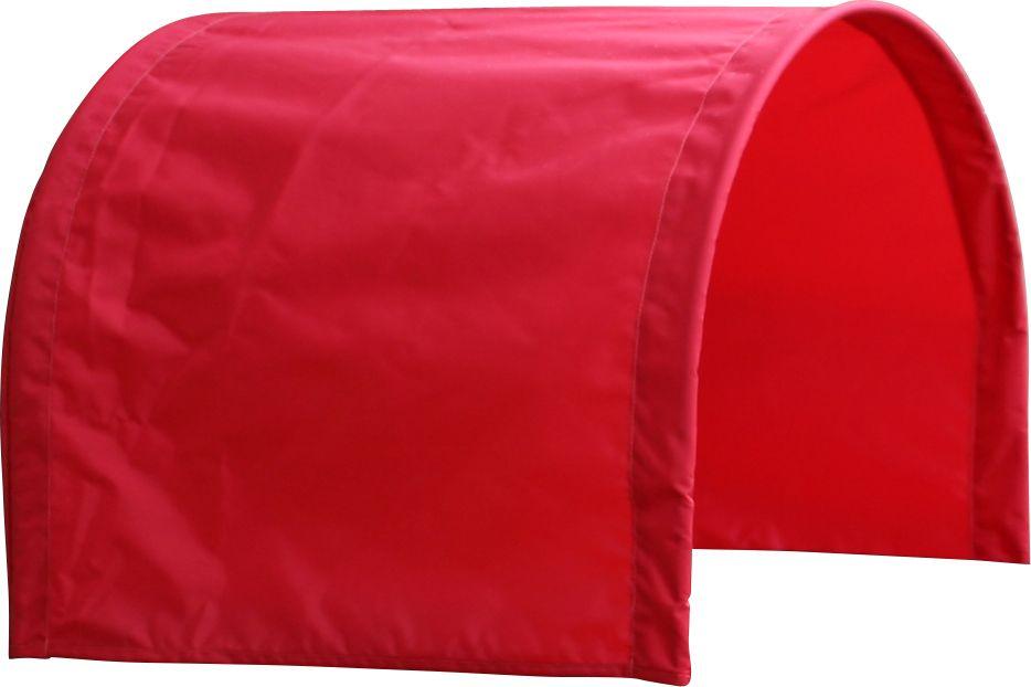 Half Red Canopy