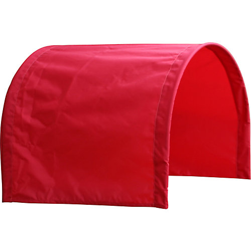 Half Red Wagon Canopy