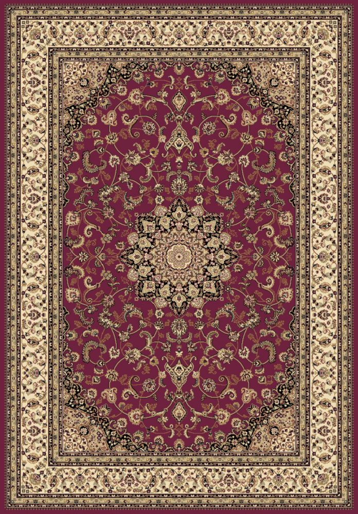 5 Feet 3 Inch  X 7 Feet 4 Inch  Imperial Red Rug