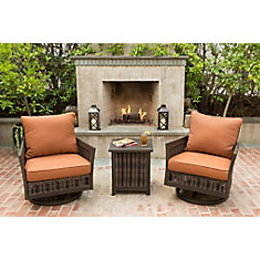 3 Piece Lady Lake Patio Seating Set