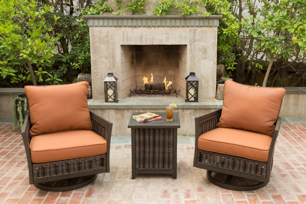 Lady Lake 3-Piece Patio Seating Set