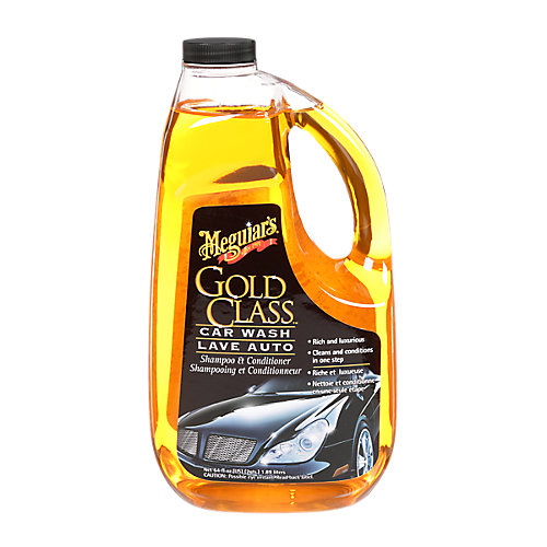 Gold Class Car Wash Shampoo & Conditioner, G7164C, orange, 64 fl. oz. (1.89 L)
