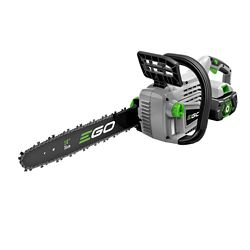 EGO 14 inch 56-Volt Lithium-ion Cordless Chainsaw with 2.5Ah Battery and Charger Included