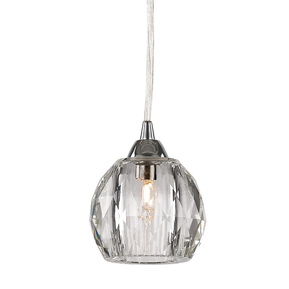HDC Faceted Ball Crystal Mini Pendant