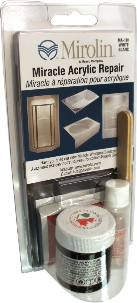 MIRACLE ACRYLIC REPAIR KIT WHT