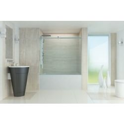 Mirolin 60 Inch Roll Top Bathtub Door.