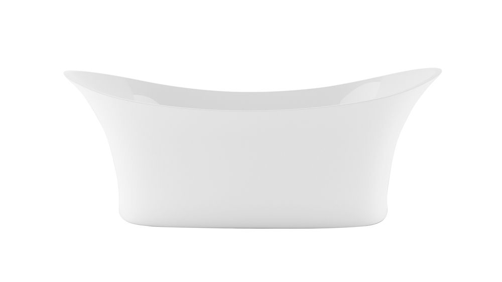Sussex Freestanding Flat-bottom Bathtub