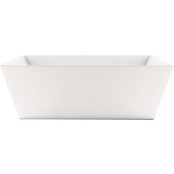 Mirolin Slate 5 ft. 6-inch Acrylic Freestanding Bathtub in White