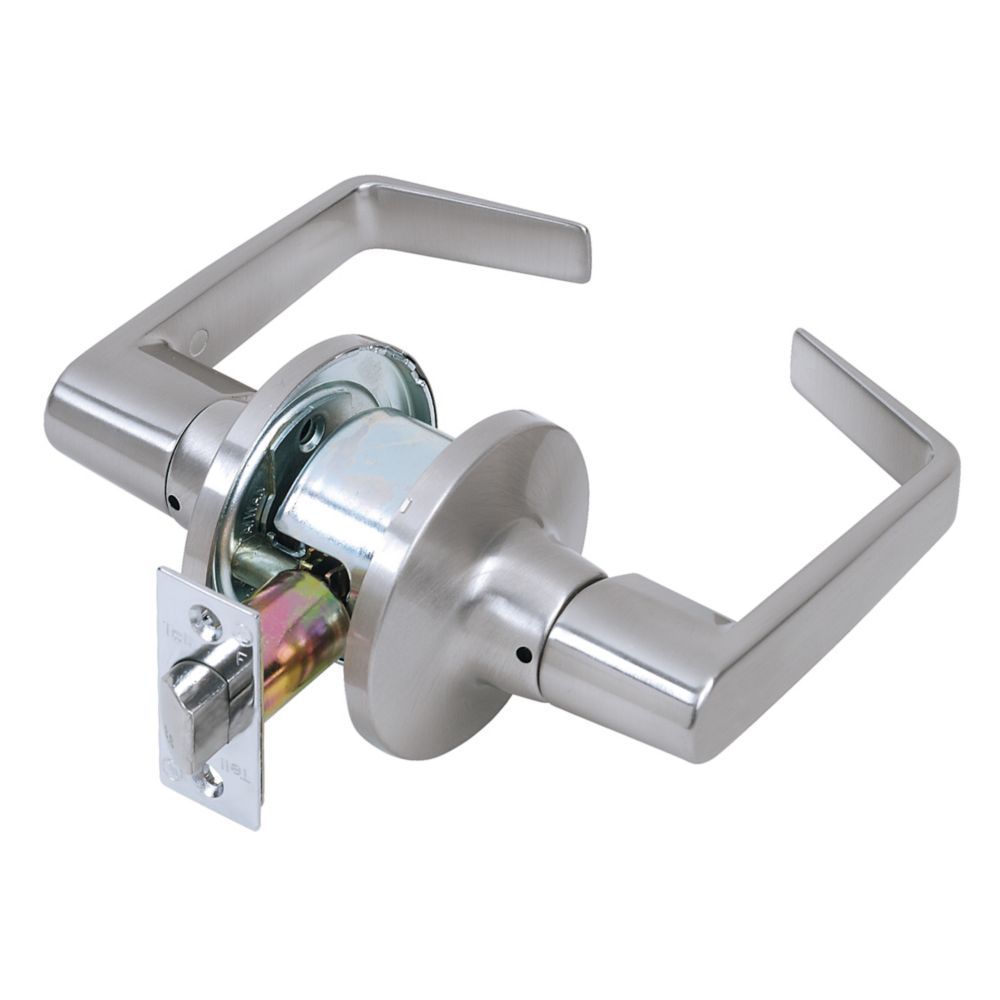 Tell Courtland Commercial Tubular Passage Lever