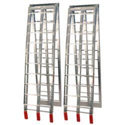 Job Pro Folding Aluminium Ramps (Silver)