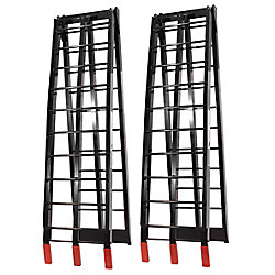 Job Pro Folding Aluminium Ramps (Black)