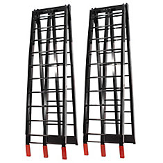 Folding Aluminium Ramps (Black)