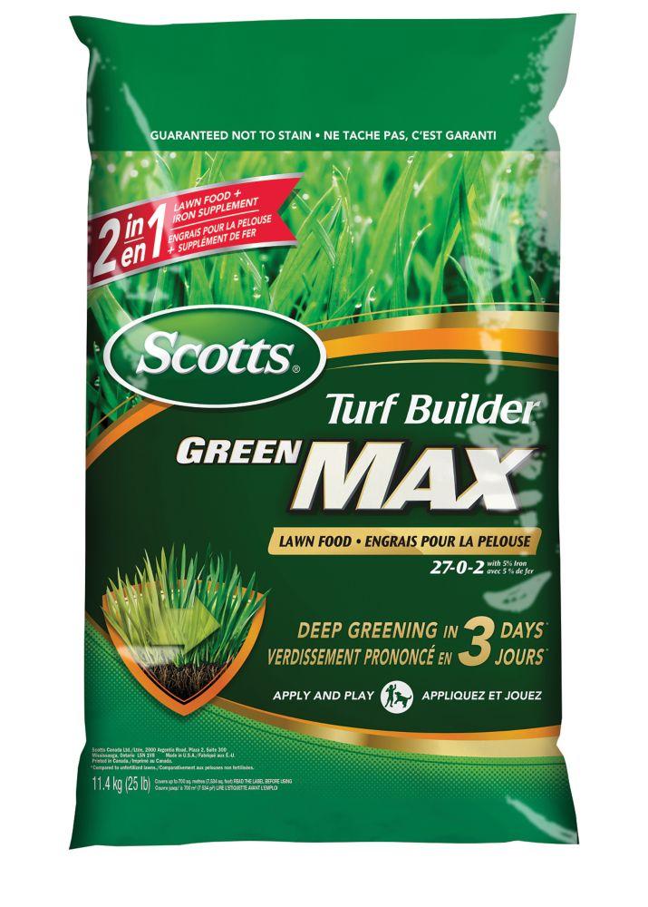 Engrais pour la pelouse Scotts<sup>®</sup> Turf Builder<sup>®</sup> Green MAX 700 M
