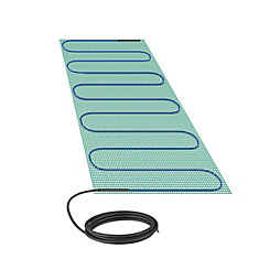 Warmlyyours Tempzone Bench Shower Mat 120V 18 Inch  X 2.7 Feet, 2.6 Sq. Feet.