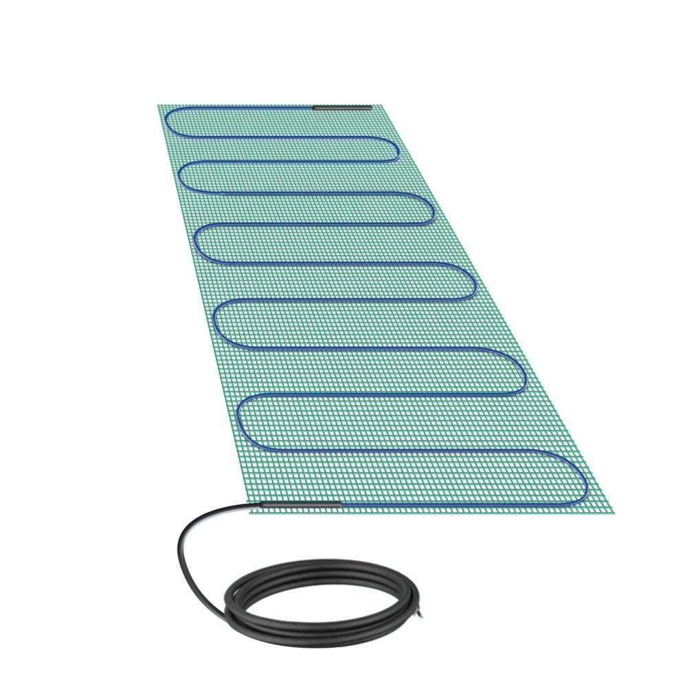 Warmlyyours Tempzone Bench Shower Mat 120V 1.3 FeetX 2.7 Feet,3.6 Sq. Feet.