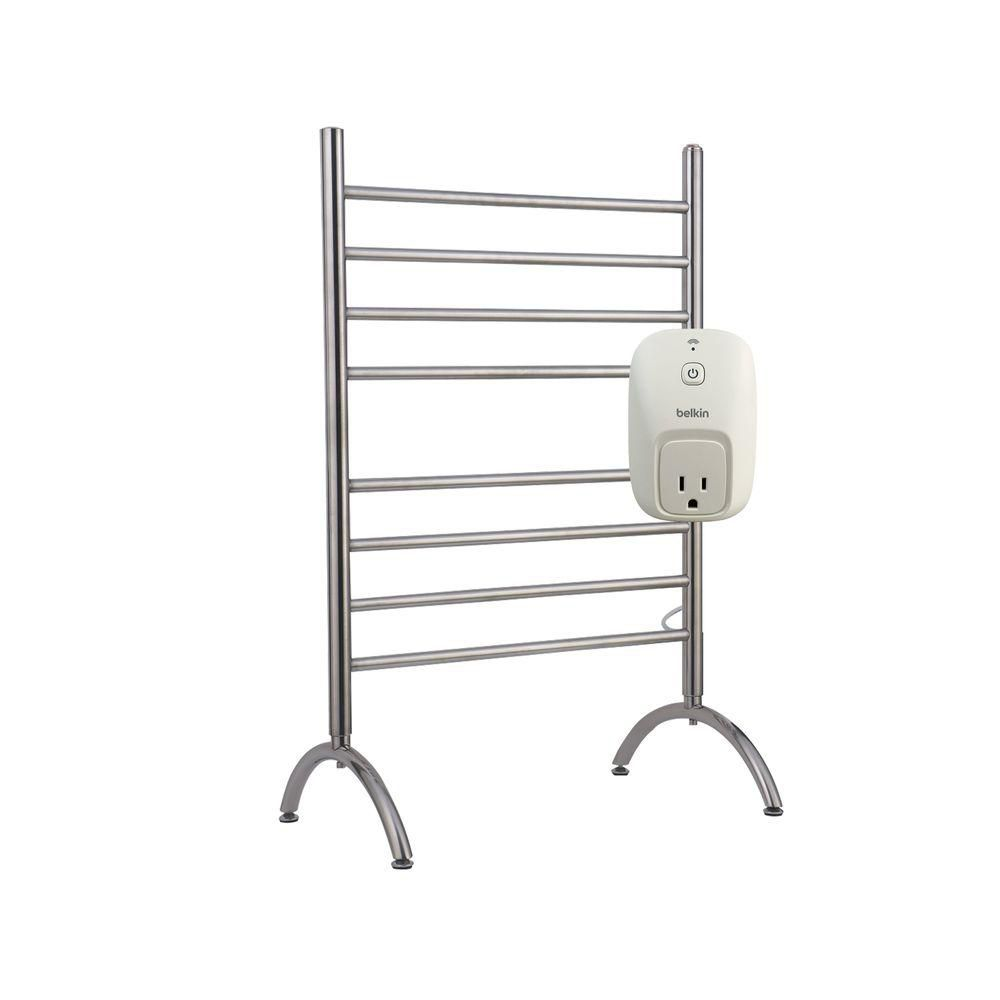 Towel Warmer Barcelona Free Standing With Wemo Switch