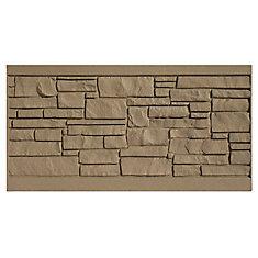 Panneau de clôture 3 X 6 - Granit brun