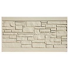 Panneau de clôture 3 X 6 - Granit beige