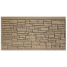 Panneau de clôture 4 X 8 - Granit brun