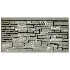 Panneau de clôture 4 X 8 - Granit gris