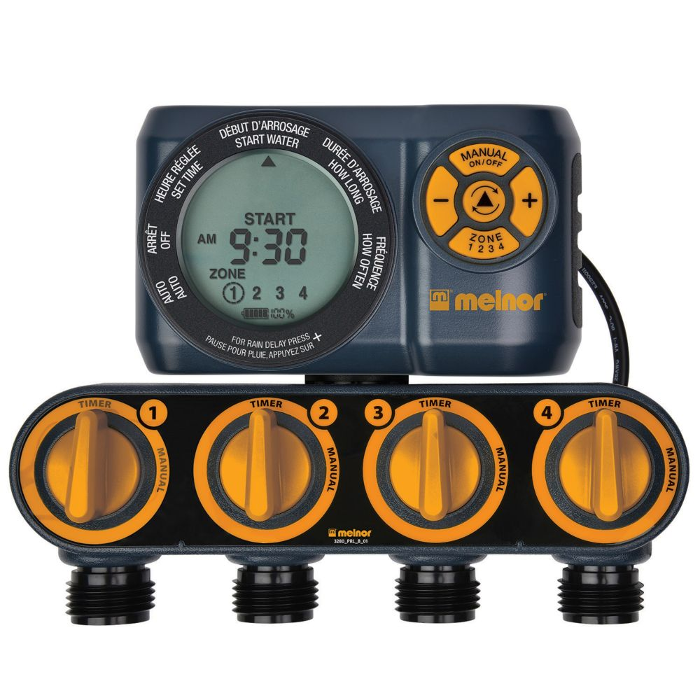 Advanced Four-Zone Electronic Water Timer
