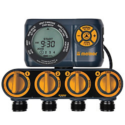 Melnor Advanced Four-Zone Electronic Water Timer