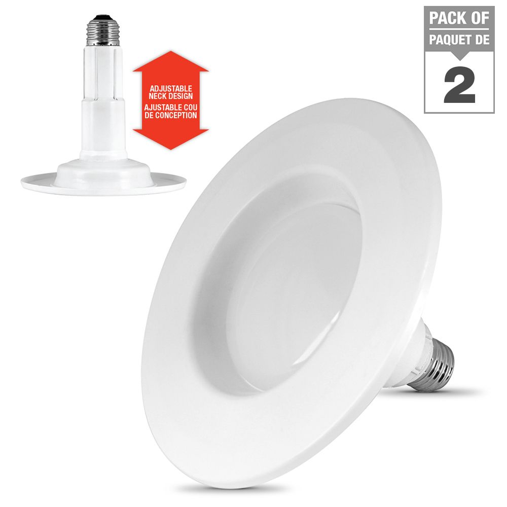 "Feit Electric Feit Electric Adjustable 4"" Dimmable InstaTRIM - ENERGY STAR®"