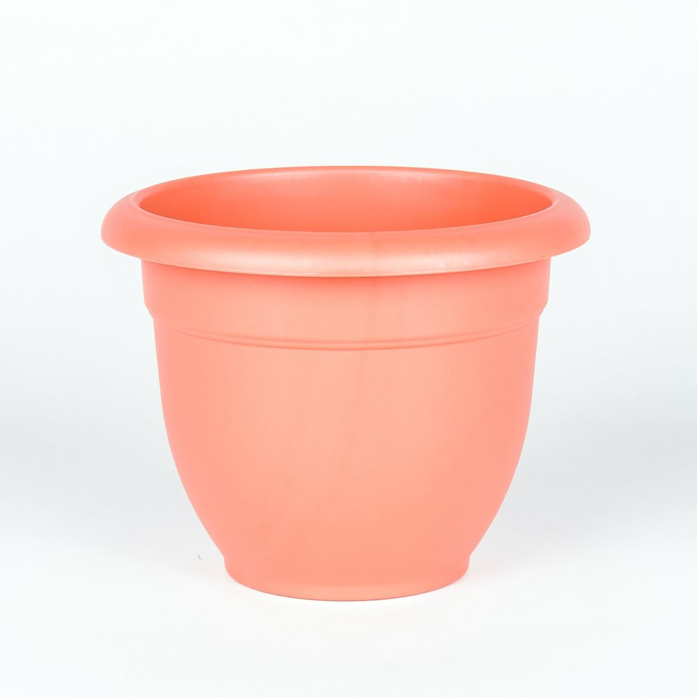 8 Inch Bell Pot Apricot