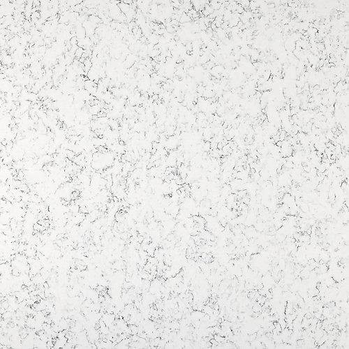 Échantillon de comptoir en quartz de 4 po x 4 po en Lyra