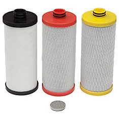 3-Stage Drinking Water Filter Replacement