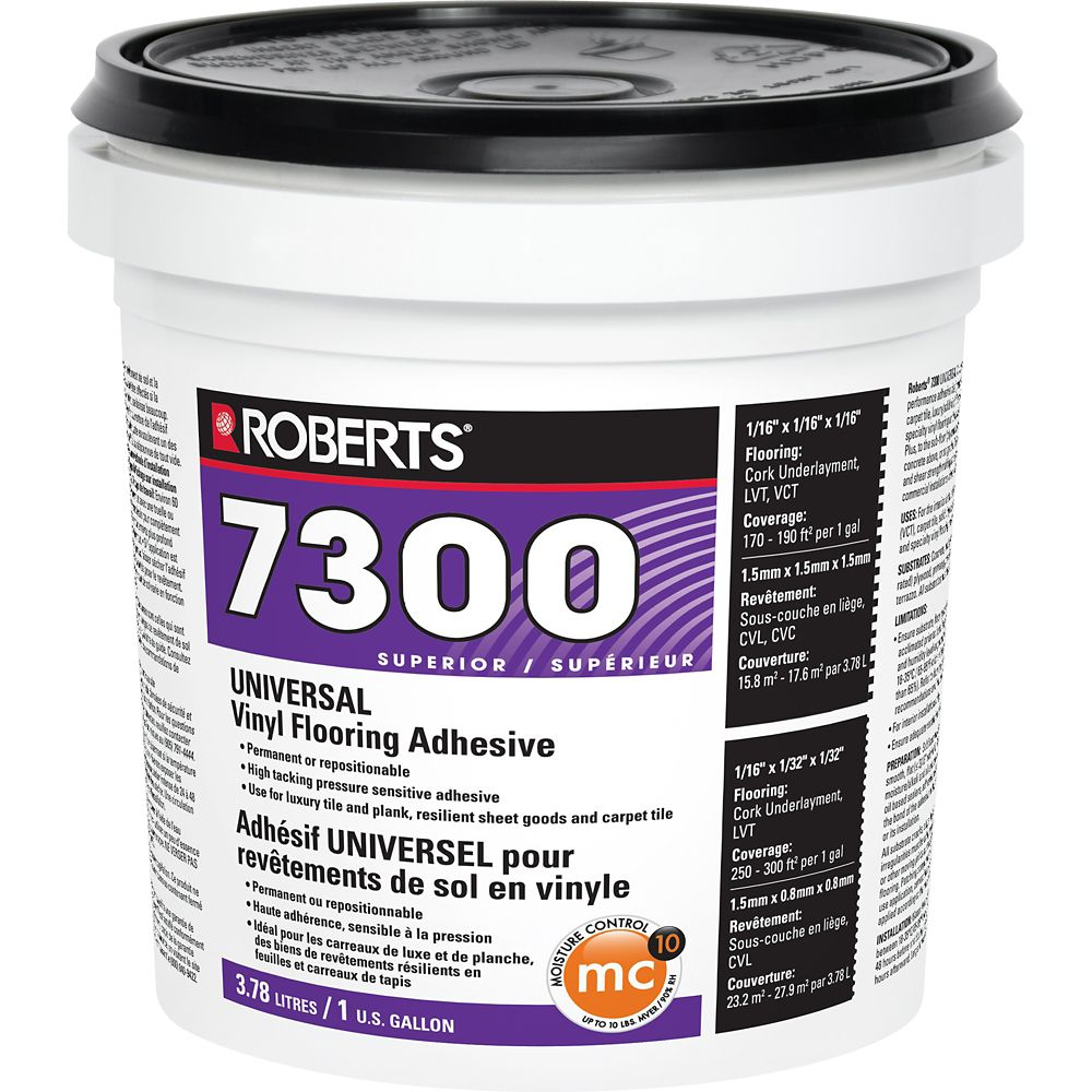 7300 Universal Vinyl Flooring Adhesive