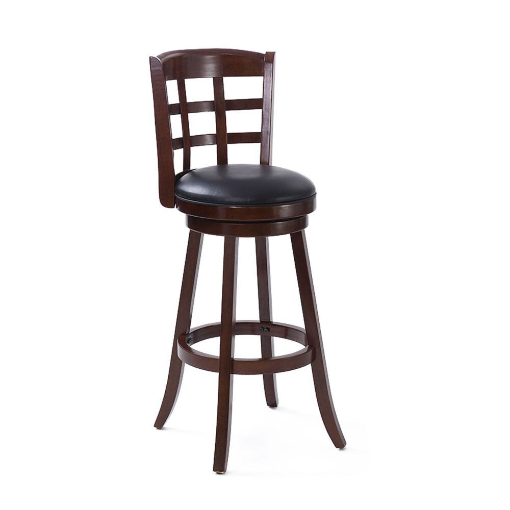 Corliving tabouret de bar en bois woodgrove 43po couleur cappuccino home de - Tabouret de bar couleur ...