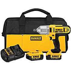 20V MAX Lithium-Ion 1/2-Inch High-Impact Cordless Wrench Kit