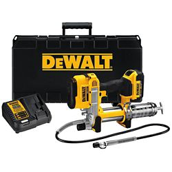 DEWALT 20V MAX Lithium-Ion Cordless Grease Gun Kit with Battery 4Ah, Charger and Kit Box