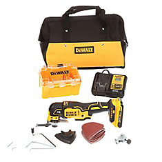 MAX XR 20V Li-Ion Oscillating Multitool with Battery and Bag