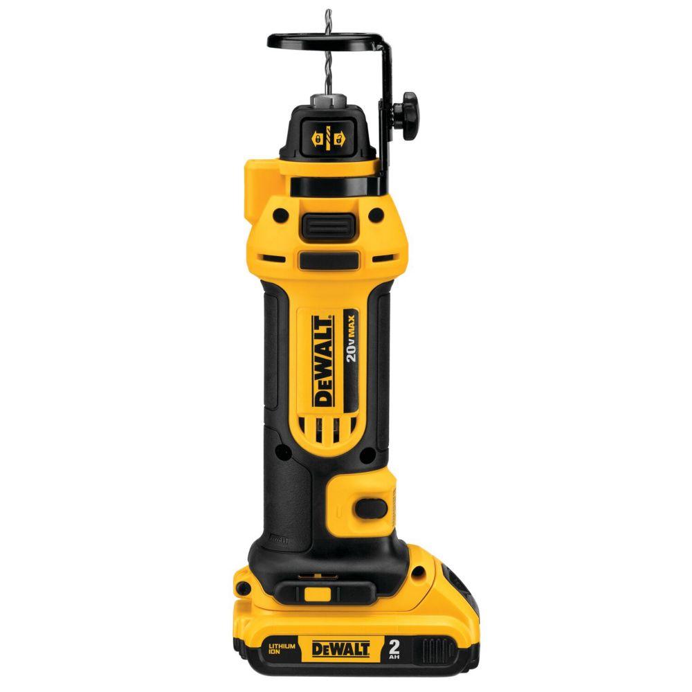 DEWALT 20V MAX Li-Ion Drywall Cut Out Tool (2.0Ah)
