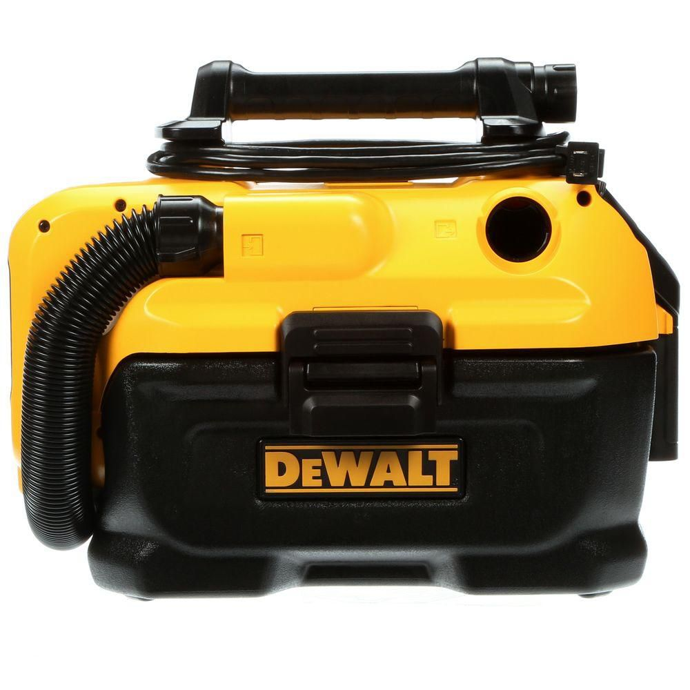 DEWALT 20V MAX Cordless/Corded 7.5L Wet/Dry Vac with HEPA Filter
