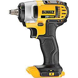 DEWALT 20V MAX Lithium-Ion Cordless 3/8-inch Impact Wrench with Hog Ring (Tool-Only)
