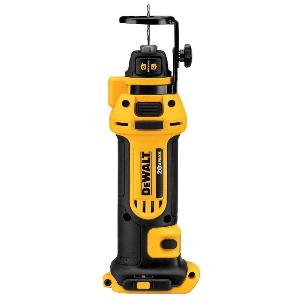 DEWALT 20V MAX Drywall Cut Out Tool - TOOL ONLY