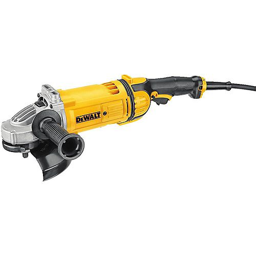 DEWALT 7-inch 4.7 hp Corded Angle Grinder with Guard