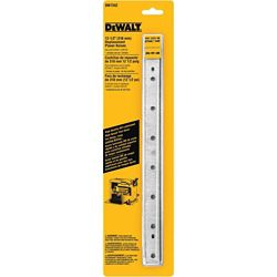 DEWALT 12-1/2-inch Steel Disposable Reversible Planer Knives for Planers (3-Pack)