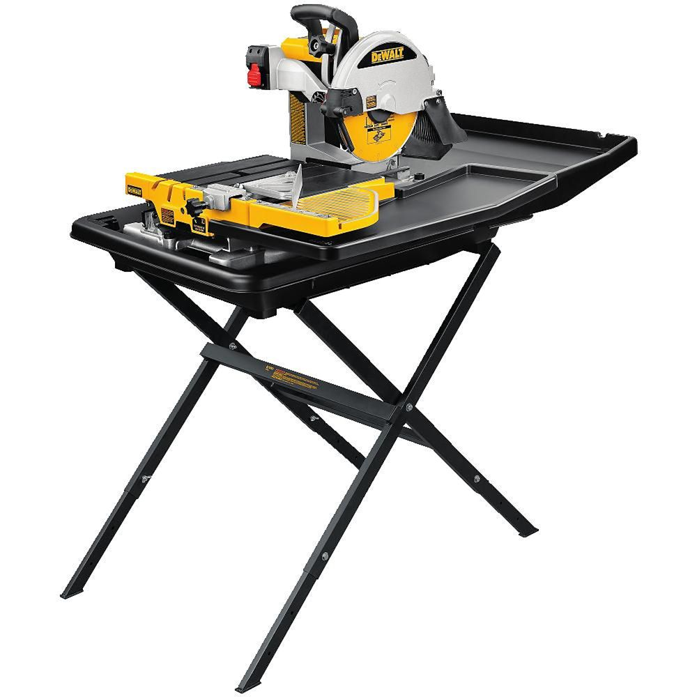 10-inch Wet Tile Saw with Stand