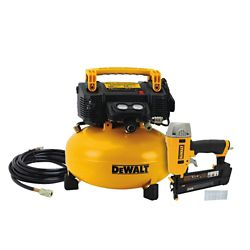 DEWALT 18-Gauge Brad Nailer and 6 Gal. Air Compressor Combo Kit