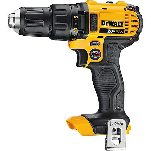 DEWALT 20V MAX Lithium-Ion Cordless Compact Drill/Drill Driver (Tool-Only)